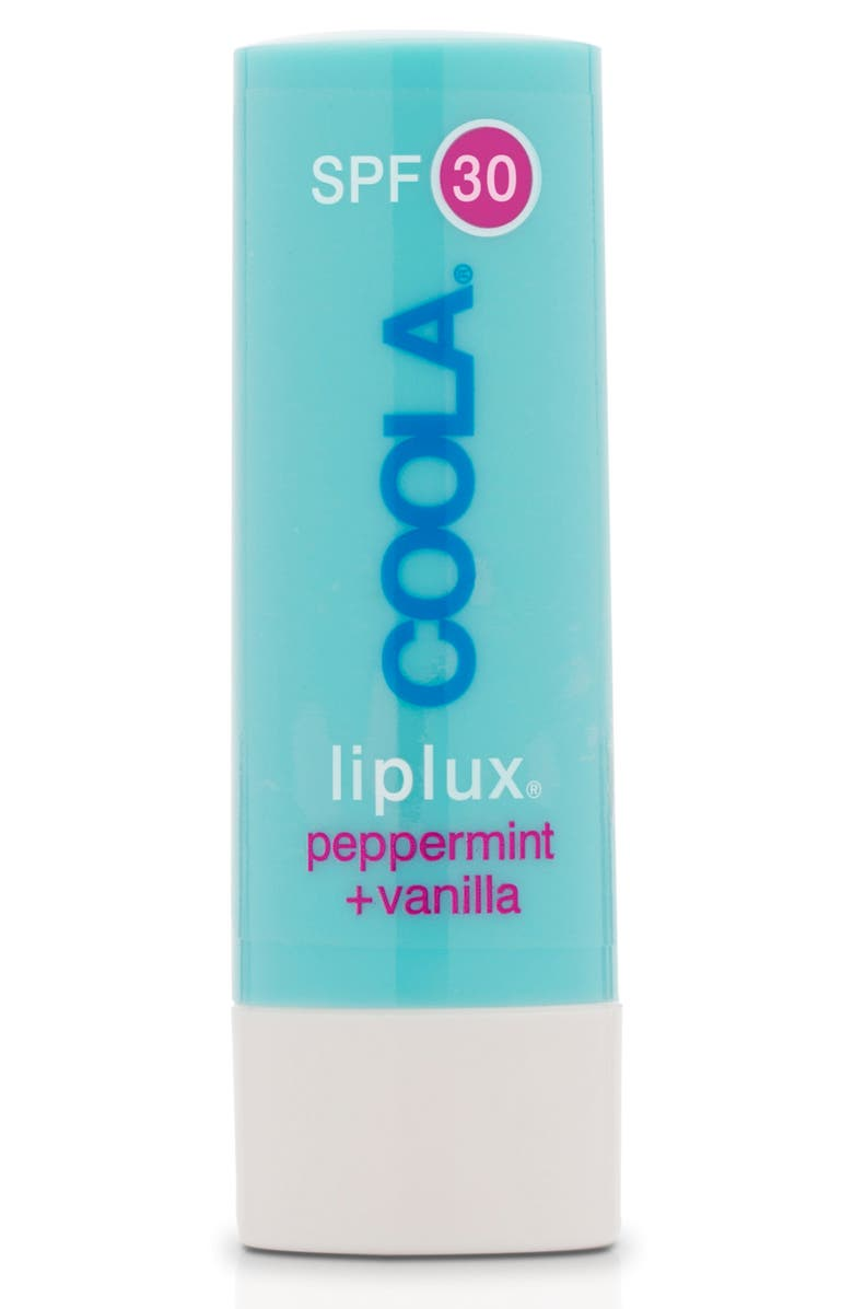 COOLA<SUP>®</SUP> Suncare Liplux Peppermint Vanilla SPF 30, Main, color, NO COLOR