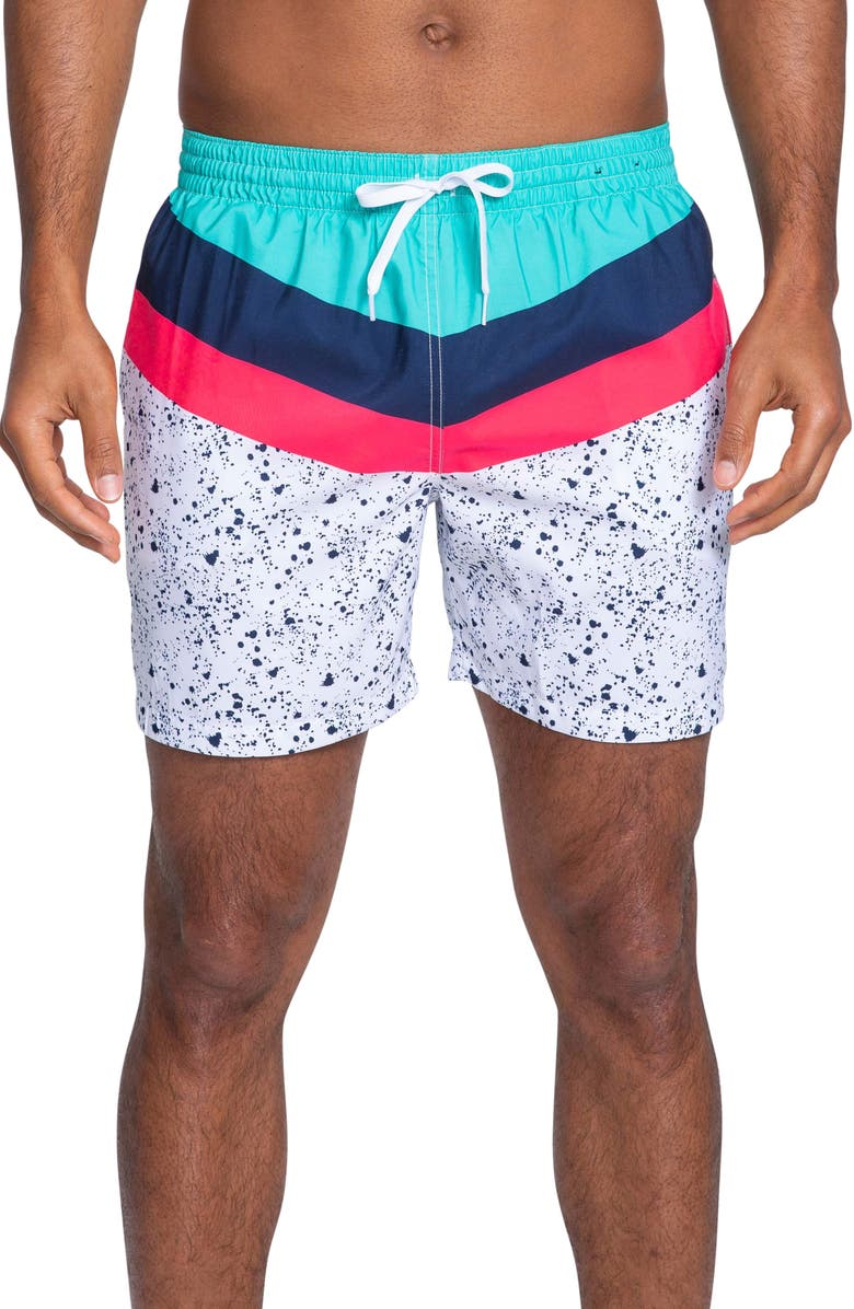 CHUBBIES Aquatic Libations Swim Trunks, Main, color, AQUATIC LIBATIONS
