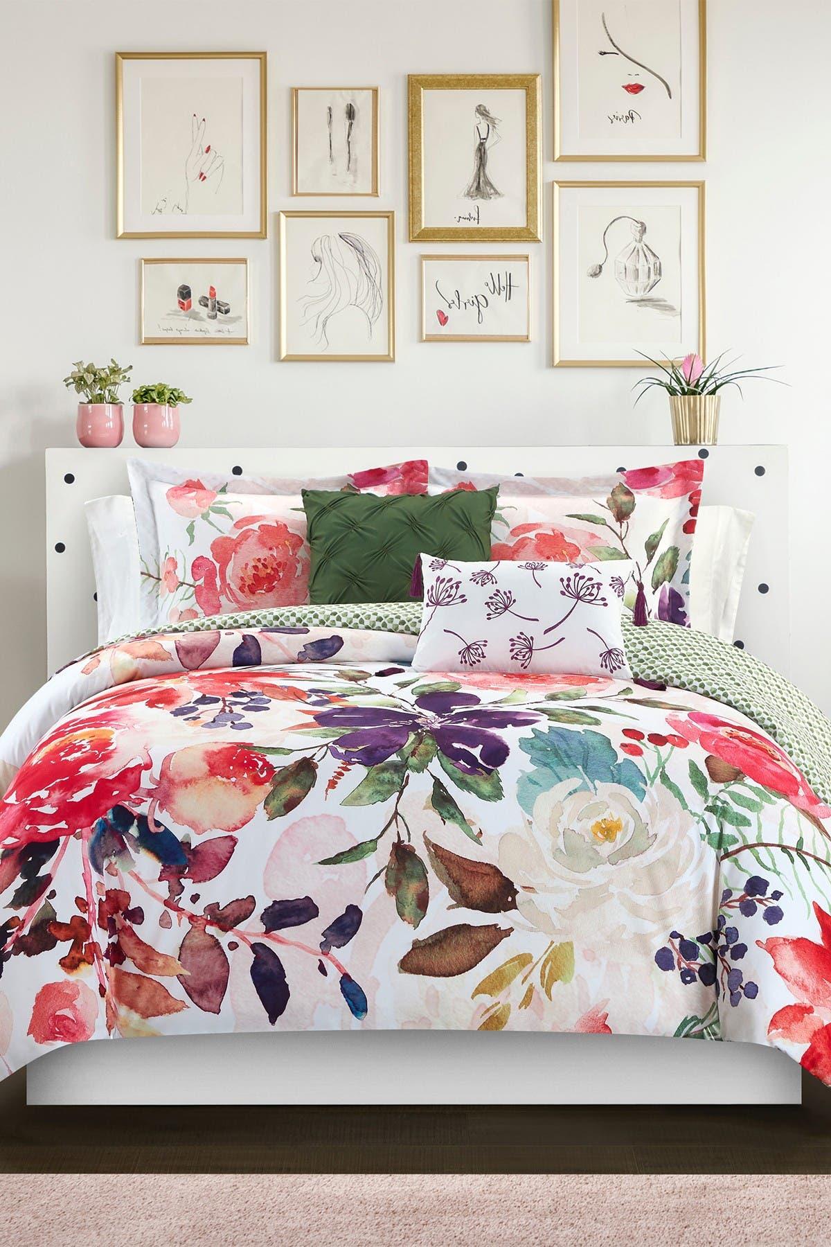 Watercolor Floral Lounge Set