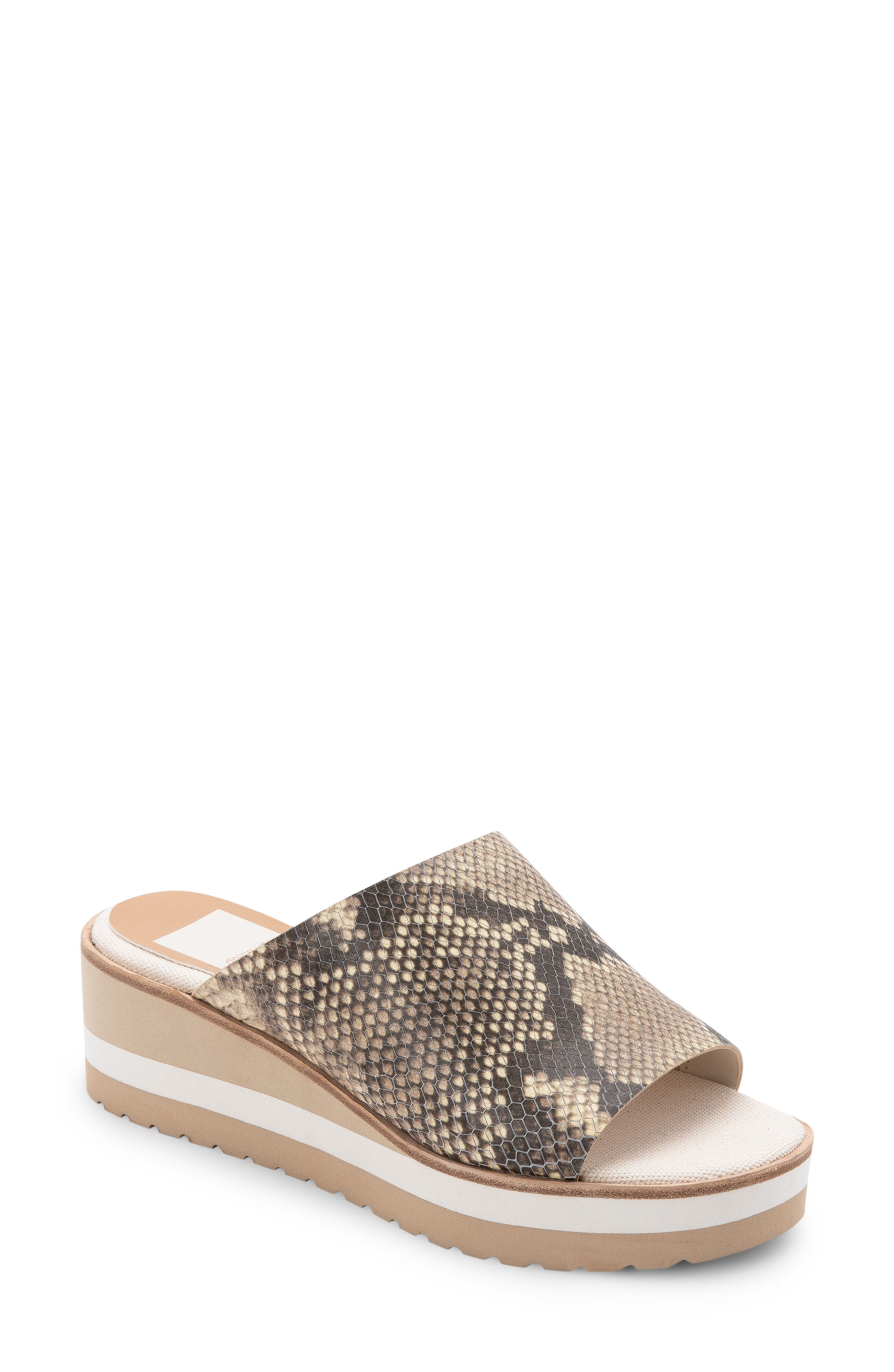 Freta Platform Wedge Sandal