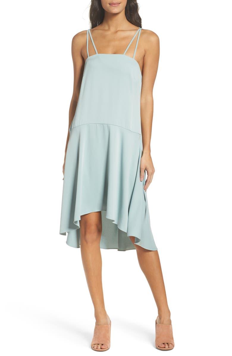 BB DAKOTA OCCASION BB Dakota Bobbie High/Low Dress, Main, color, 350