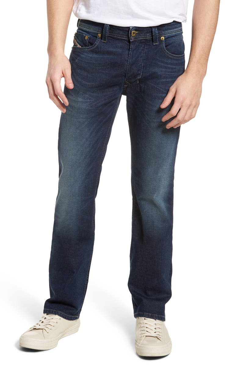 DIESEL<SUP>®</SUP> Larkee Relaxed Fit Jeans, Main, color, BLUE