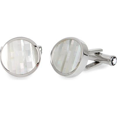 Montblanc Mother-Of-Pearl Cuff Links