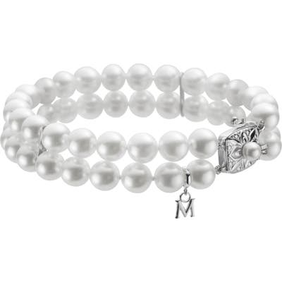 Mikimoto Double Strand Cultured Pearl Bracelet