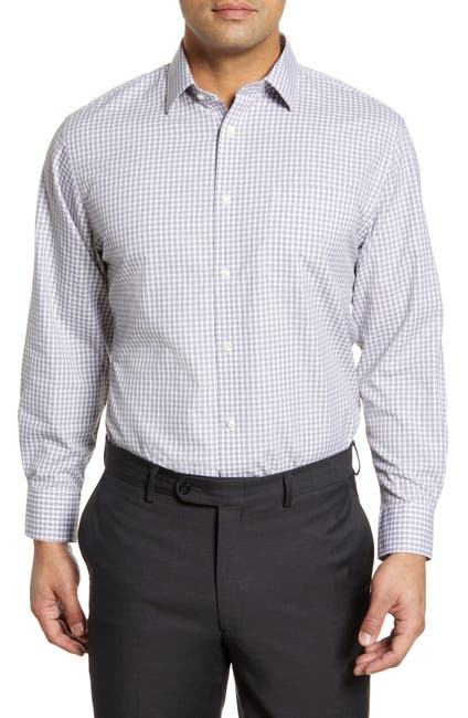Image of NORDSTROM MEN'S SHOP Smartcare™ Traditional Fit Check Dress Shirt