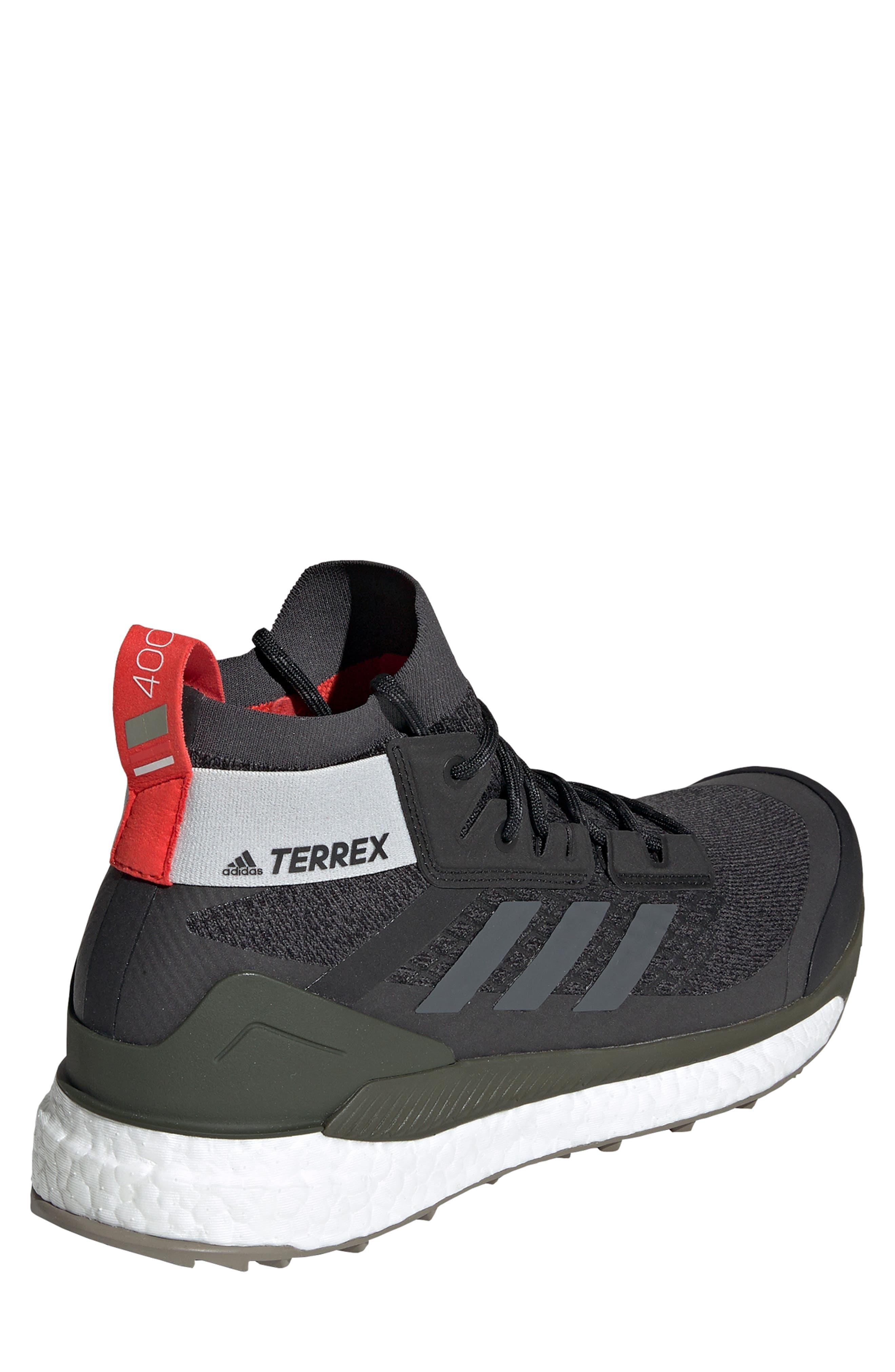 ,                             Outdoor Terrex Free Hiker CR Hiking Shoe,                             Alternate thumbnail 2, color,                             BLACK/ GREY SIX/ NIGHT CARGO
