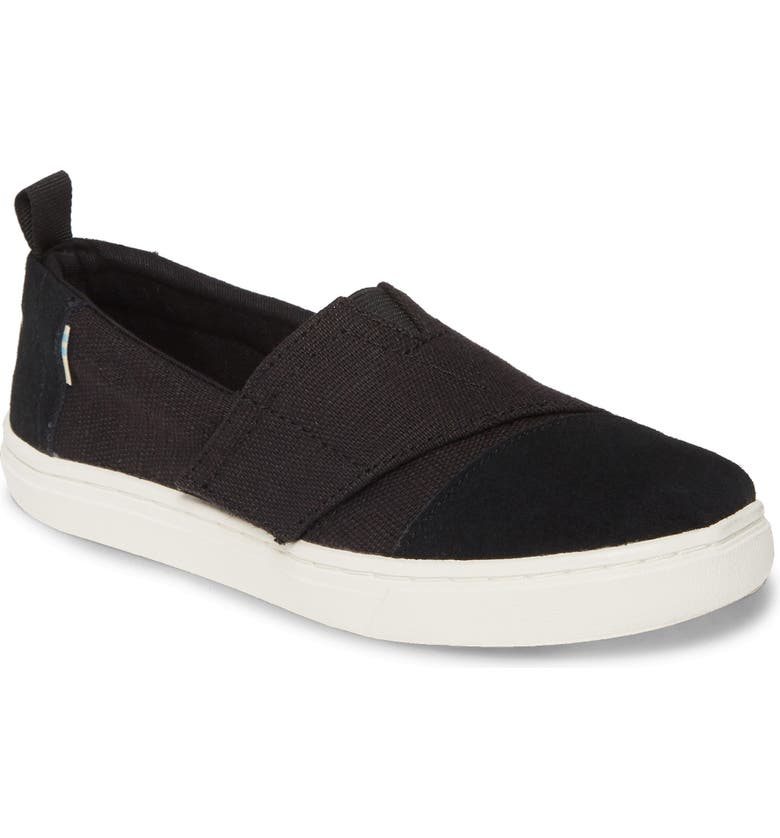 TOMS Aliso Sneaker, Main, color, 001