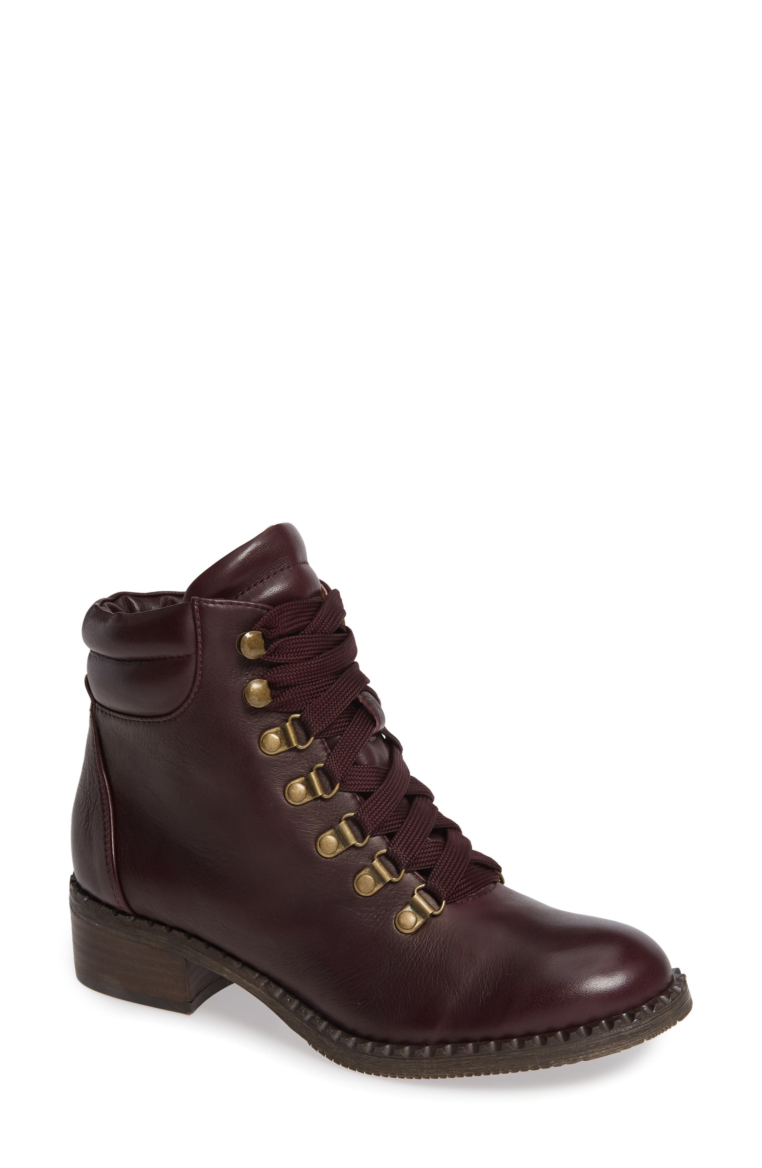 Brooklyn Combat Boot, Main, color, OXBLOOD LEATHER