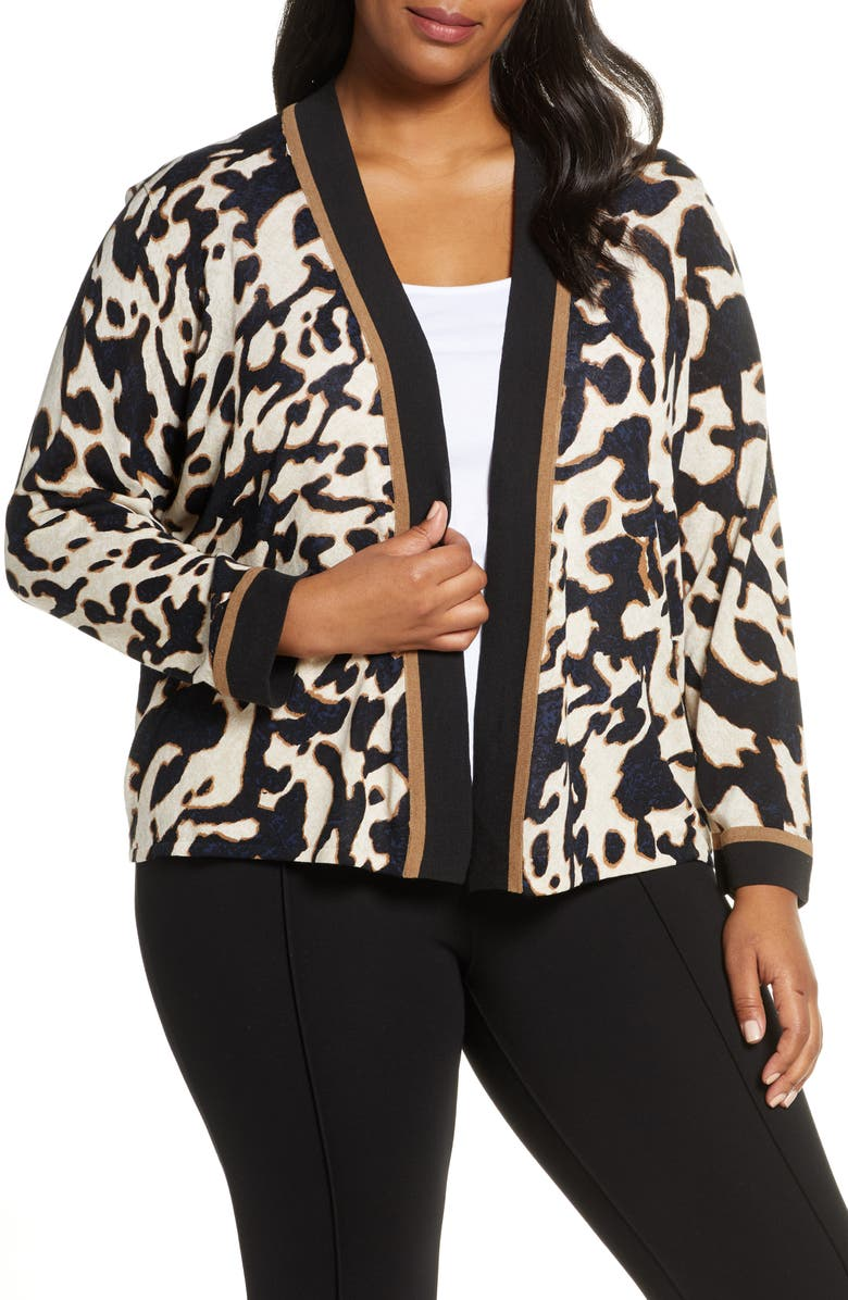 NIC+ZOE Leader of the Pack Cardigan, Main, color, MULTI
