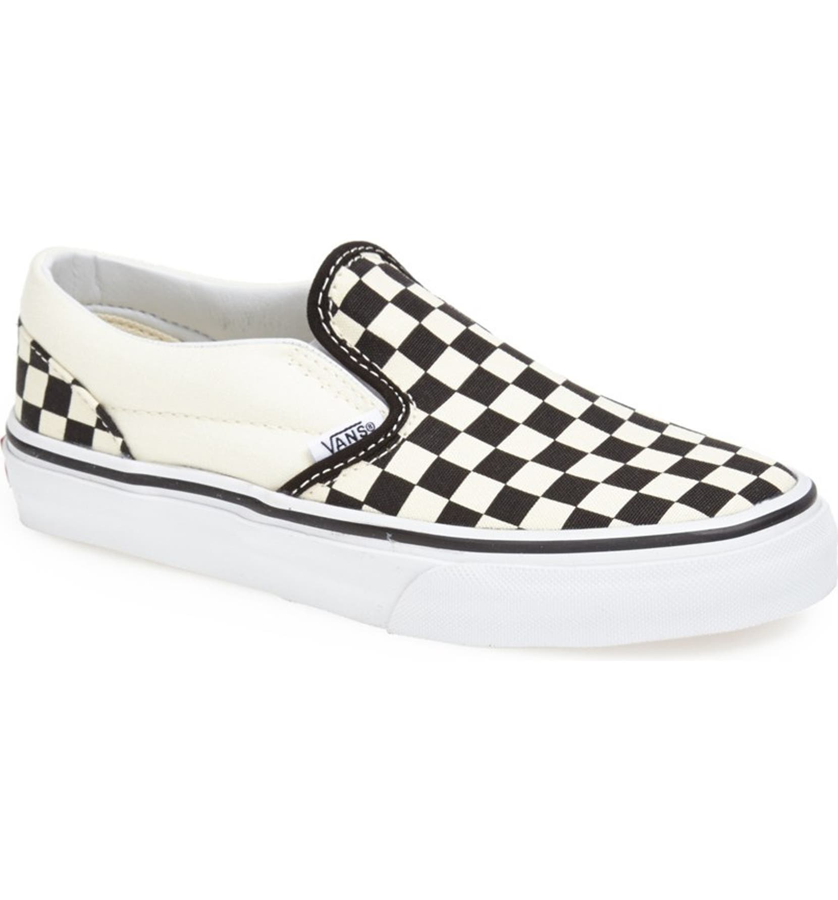 16e6f43c1f52 Vans 'Classic - Checkerboard' Slip-On (Baby, Walker, Toddler, Little Kid &  Big Kid) | Nordstrom