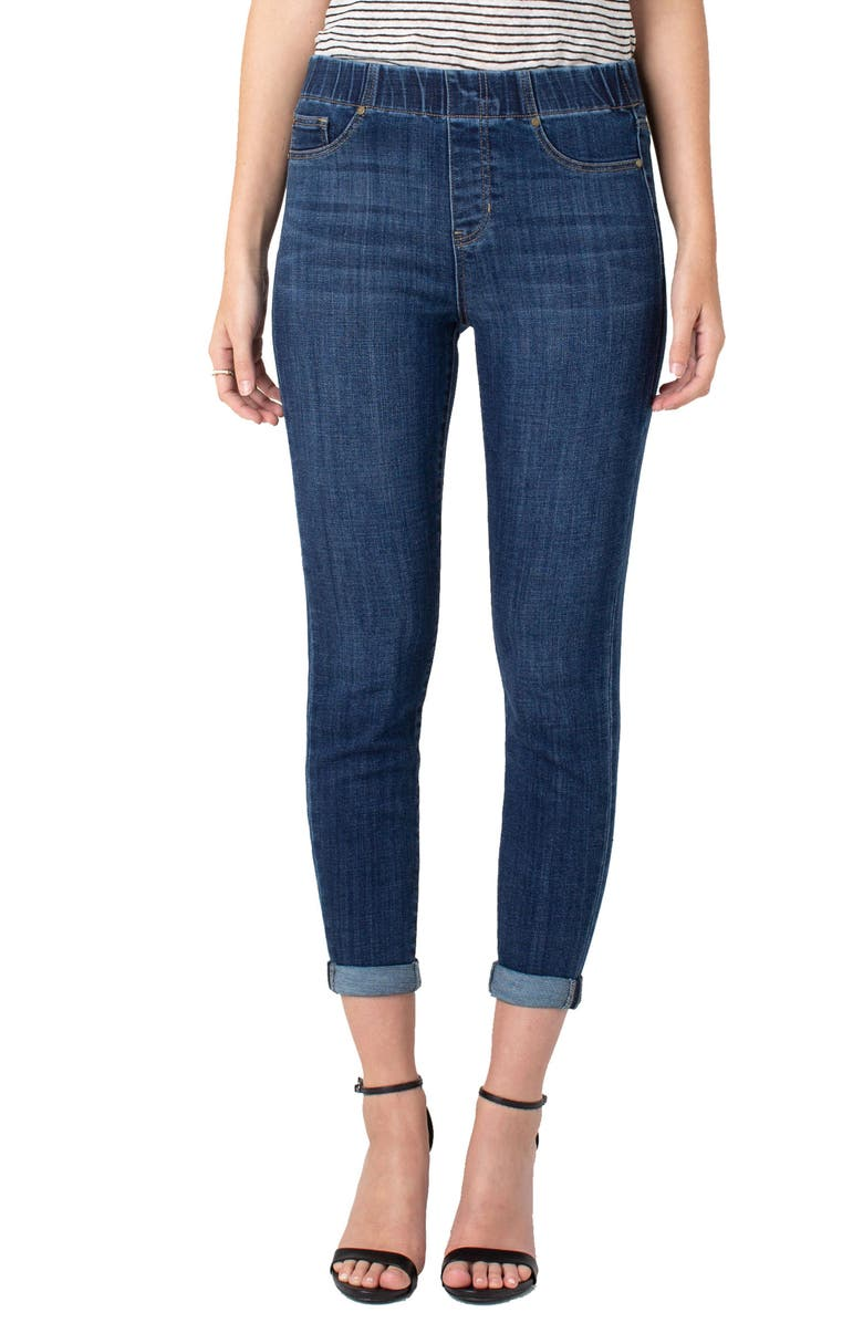 Liverpool Chloe Pull On Ankle Skinny Jeans Edgewater