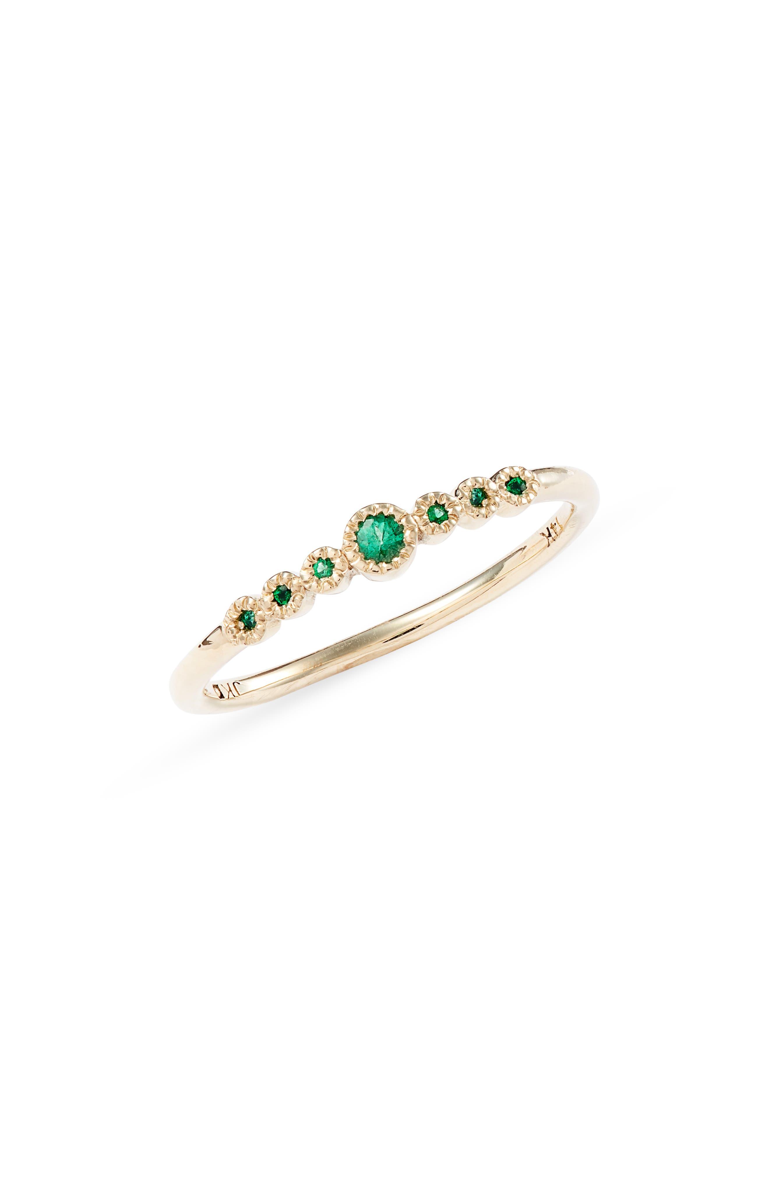Emerald Journey Ring