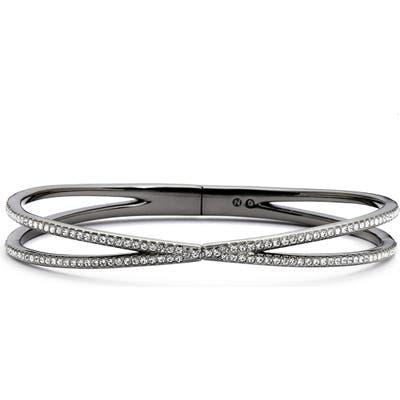 Nadri Pave Hinged Crossover Bracelet (Nordstrom Exclusive)