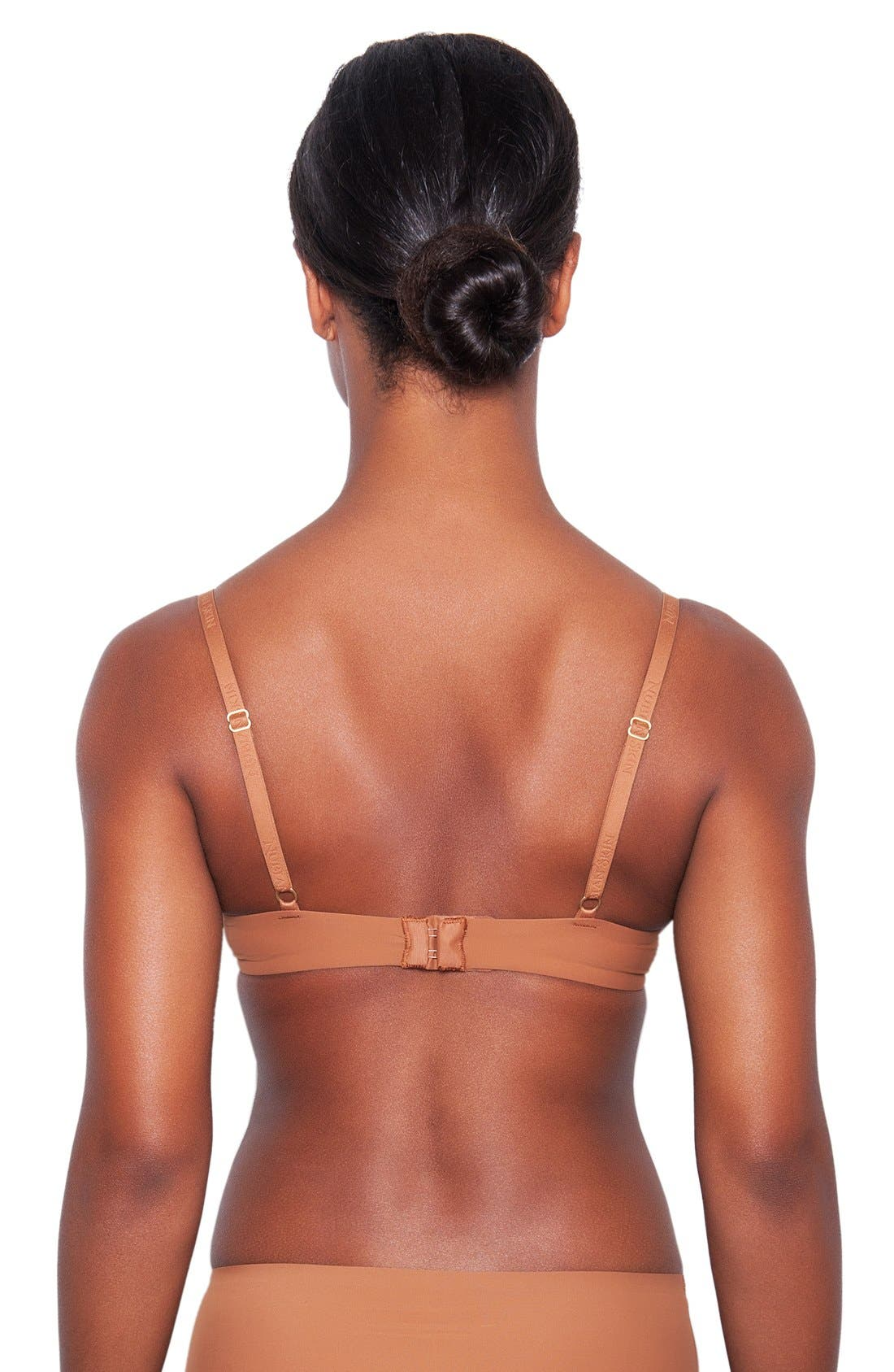 ,                             'Essential' Underwire T-Shirt Bra,                             Alternate thumbnail 8, color,                             208