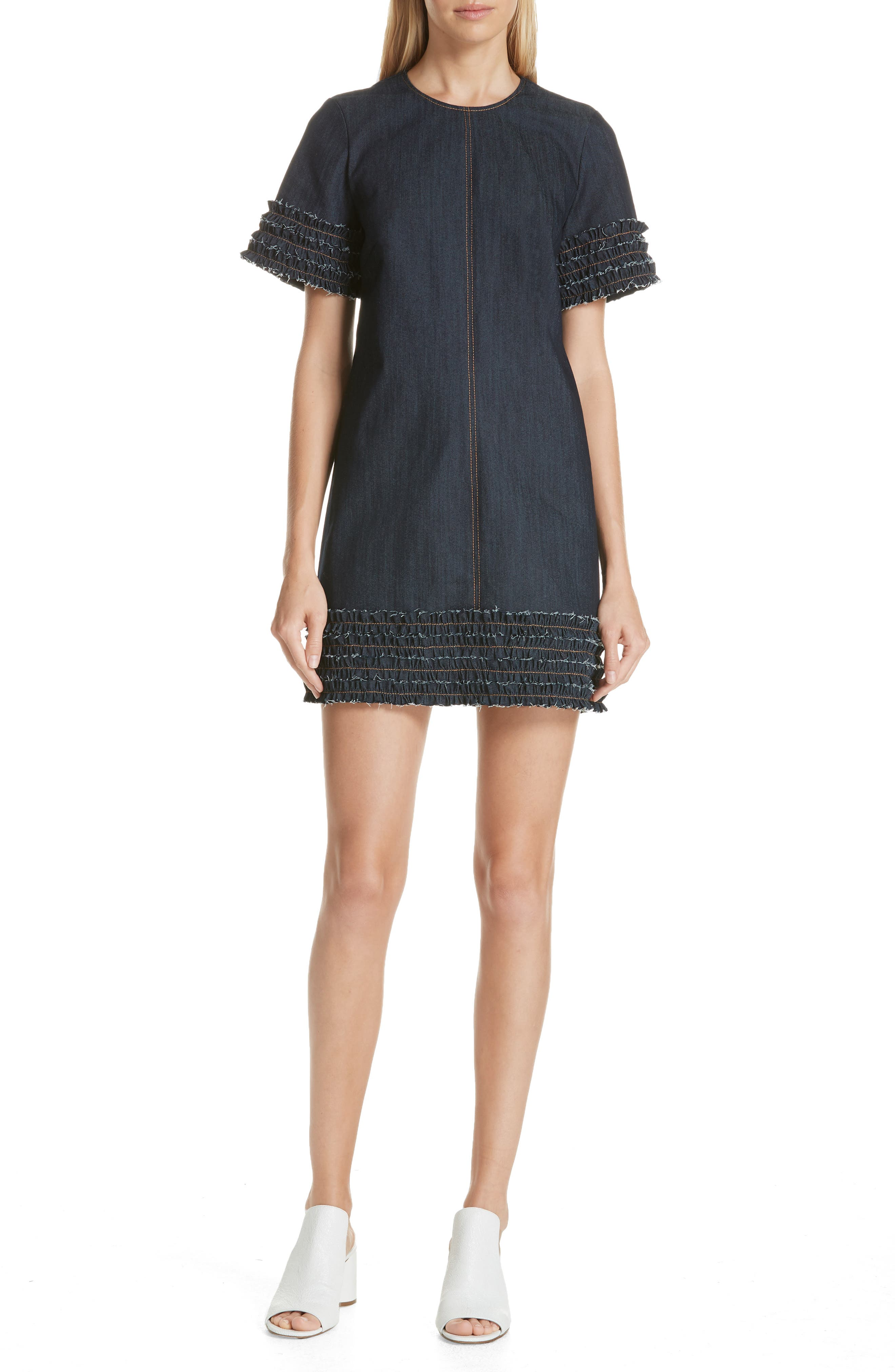 Cinq A Sept Ashton Dress, Blue