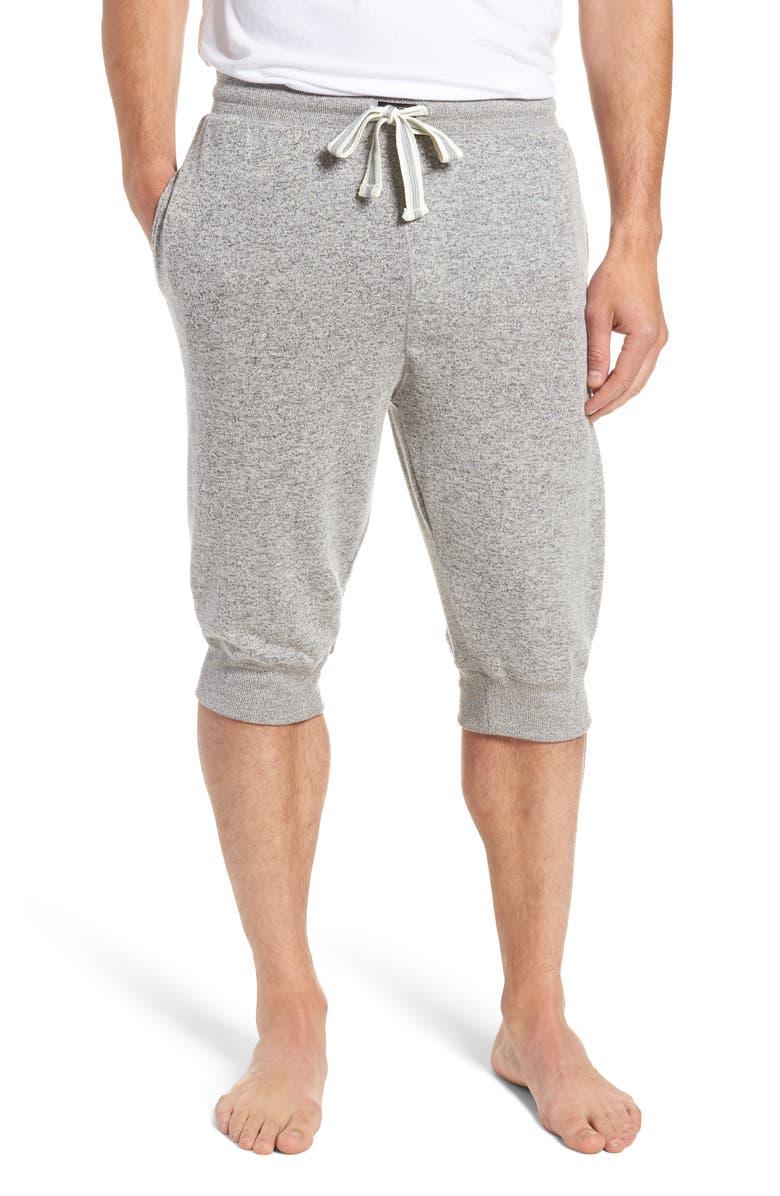 JOE'S Cropped Drawstring Jogger Pants, Main, color, HEATHER GREY