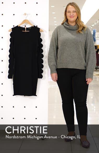 Jayney Bow Sleeve Knit Dress, sales video thumbnail
