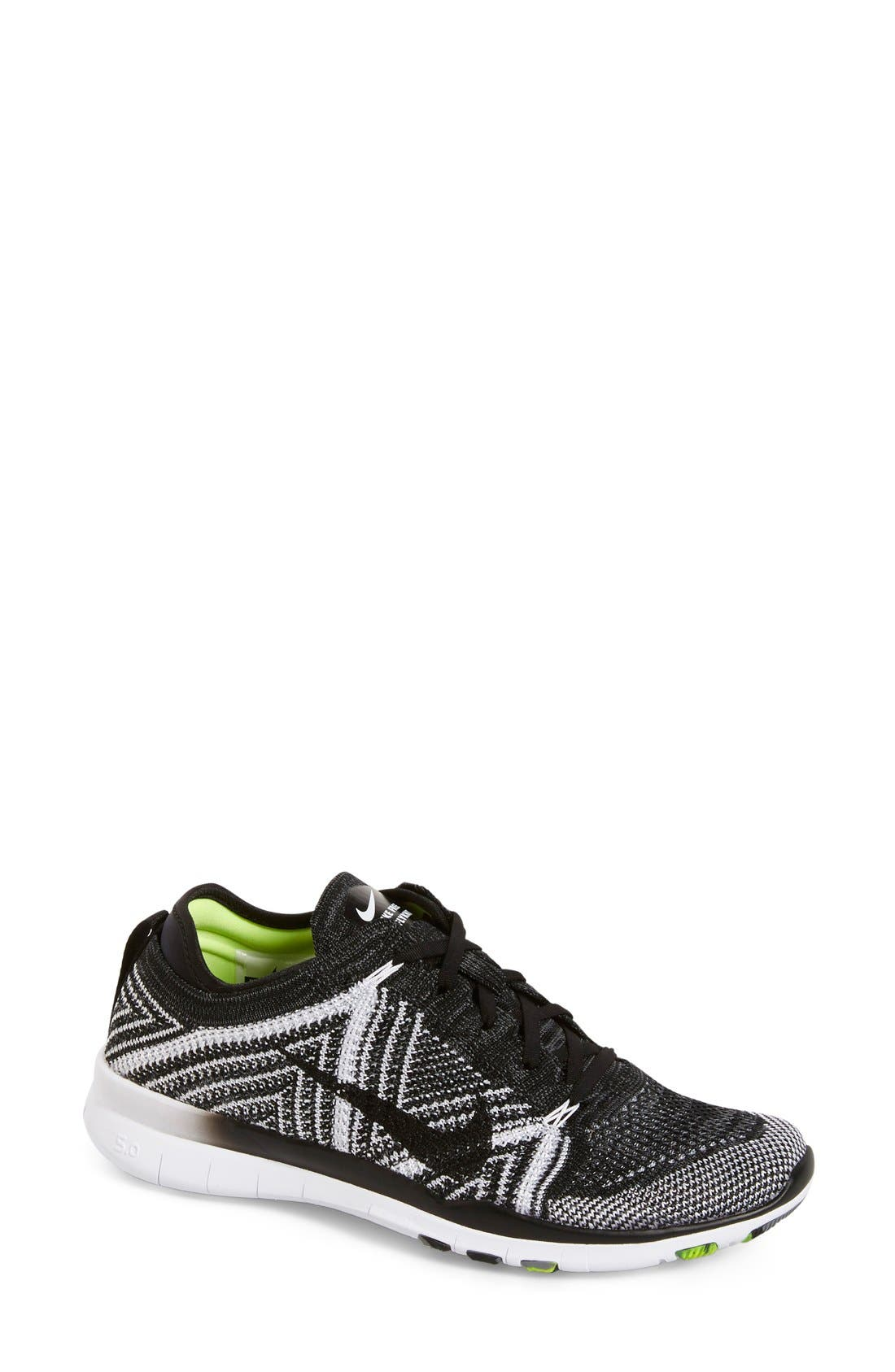 ,                             'Free Flyknit 5.0 TR' Training Shoe,                             Main thumbnail 8, color,                             004