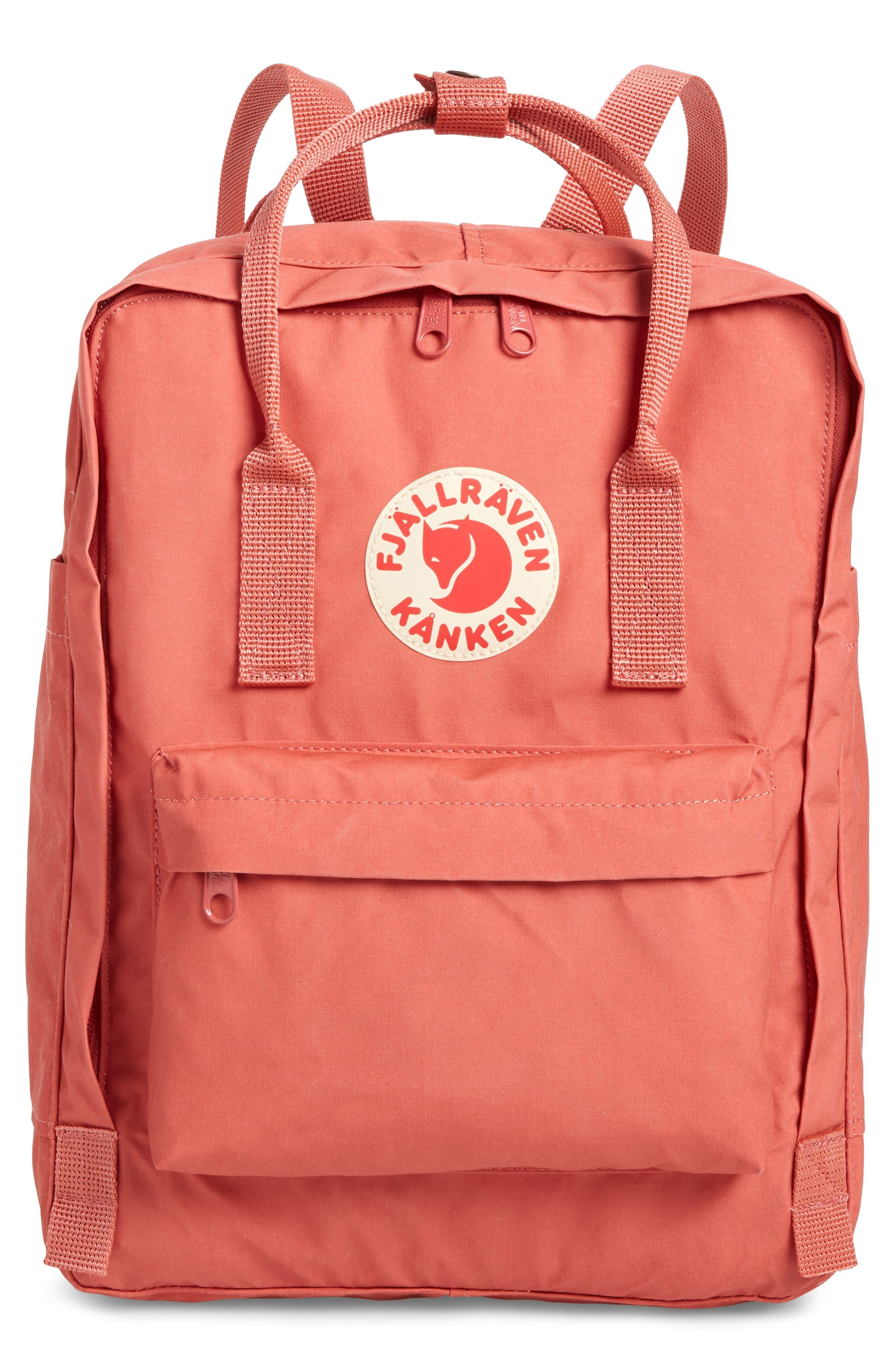 ,                             Kånken Water Resistant Backpack,                             Main thumbnail 1, color,                             DAHLIA
