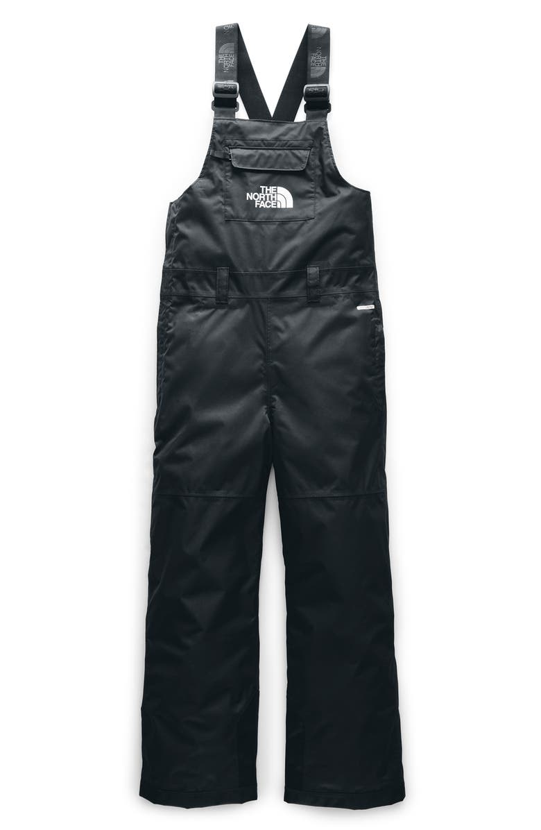THE NORTH FACE Freedom Insulated Waterproof Snow Bib Overalls, Main, color, TNF BLACK