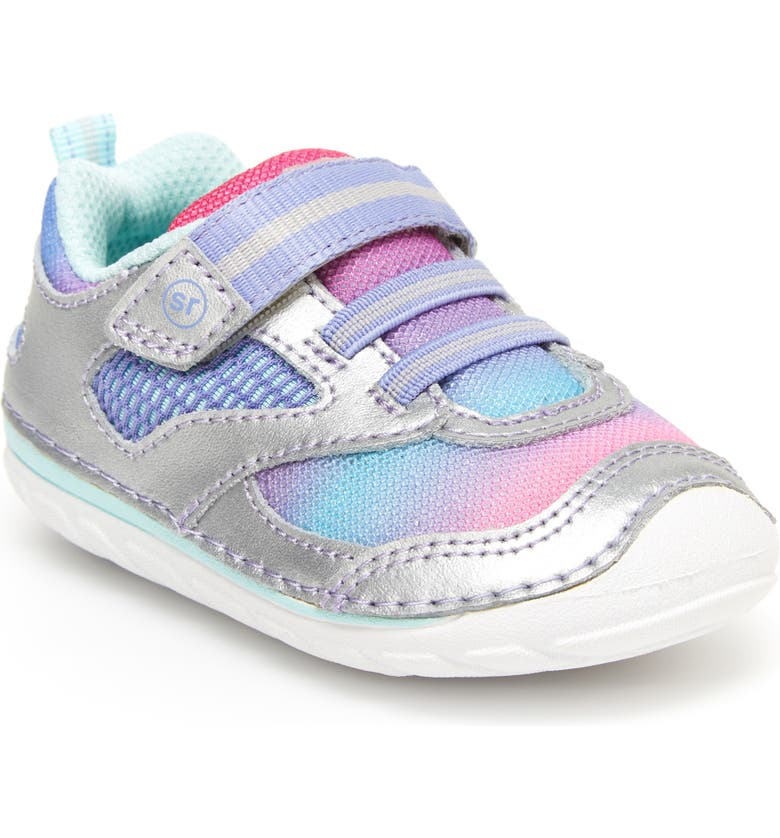 STRIDE RITE Soft Motion<sup>™</sup> Adrian Sneaker, Main, color, SILVER MULTI