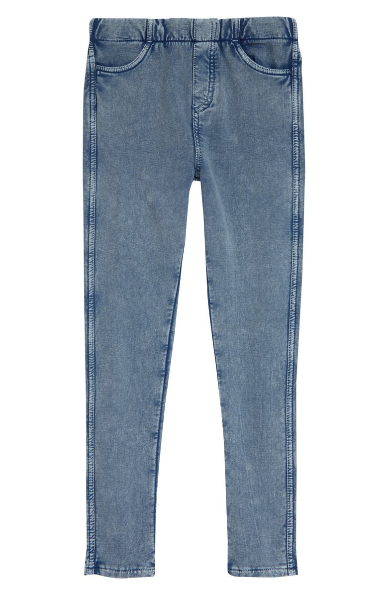 TUCKER + TATE Sadie Jeggings, Main, color, MID INDIGO WASH