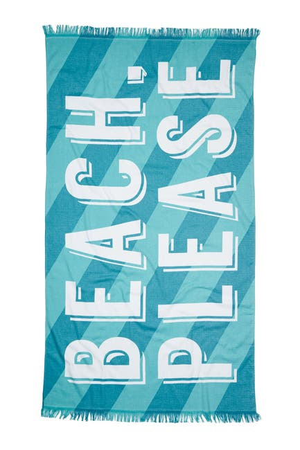"""Image of Nordstrom Rack Printed Beach Towel - 40""""x70"""""""
