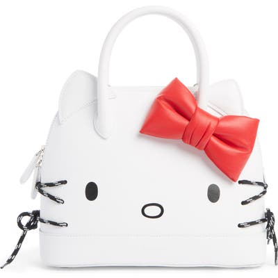 Balenciaga X Hello Kitty Small Top Handle Bag - White