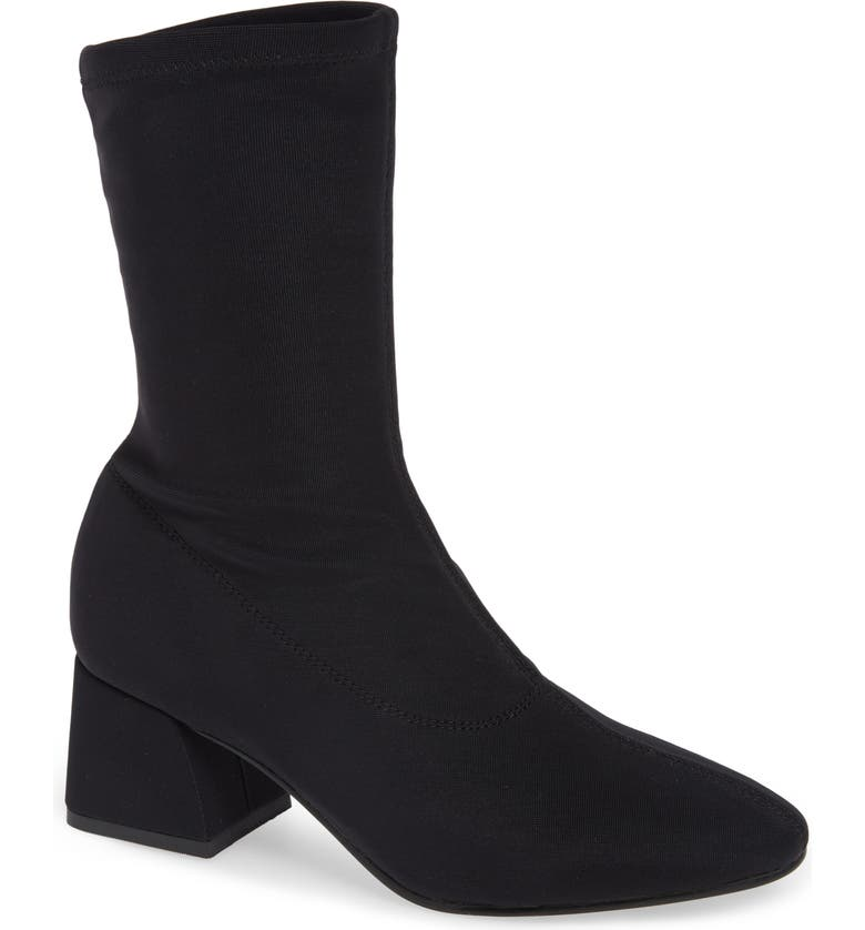 VAGABOND SHOEMAKERS Alice Stretch Bootie, Main, color, BLACK FABRIC