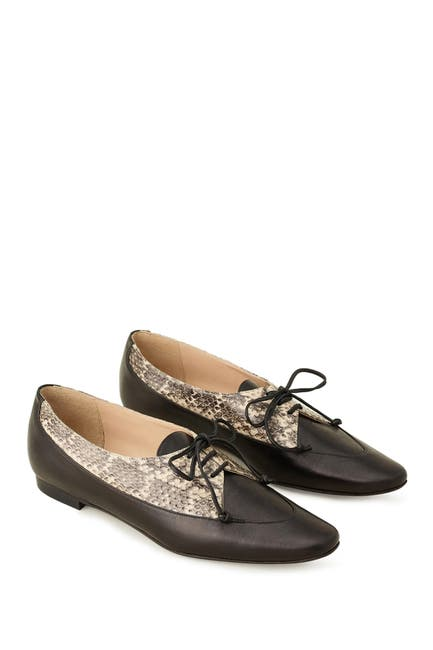 Image of Lafayette 148 New York Ines Snake Embossed Oxford