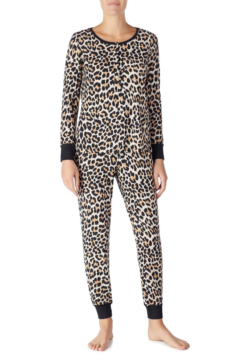 KATE SPADE NEW YORK jogger long pajamas, Main, color, 209
