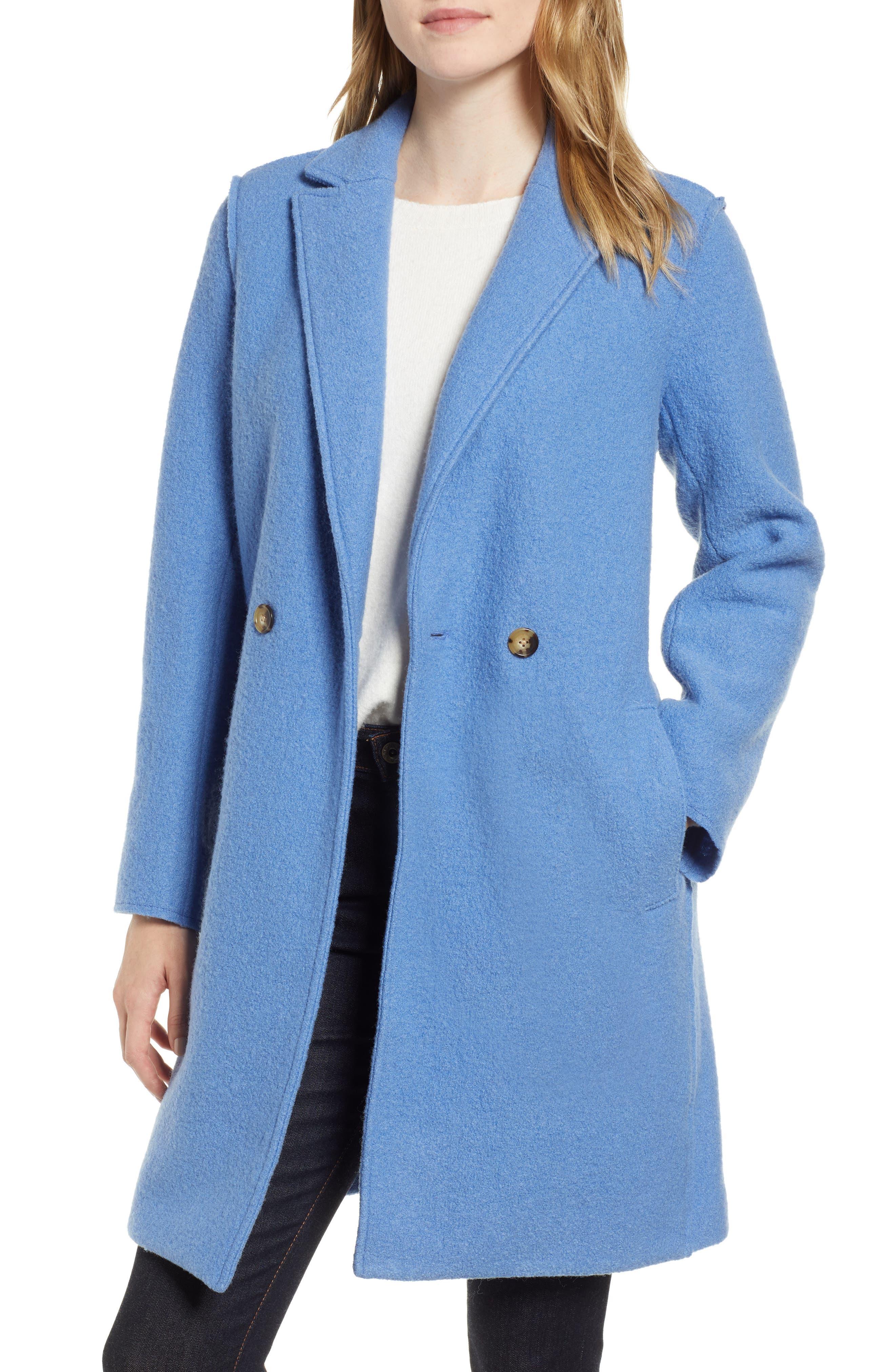 ,                             Daphne Boiled Wool Topcoat,                             Main thumbnail 26, color,                             405