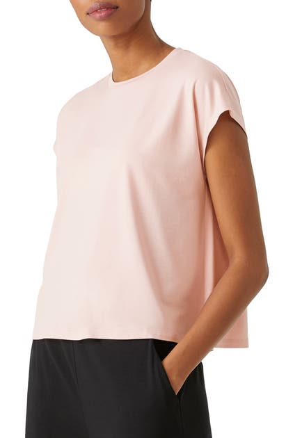 Eileen Fisher Tops CREWNECK BOXY TOP