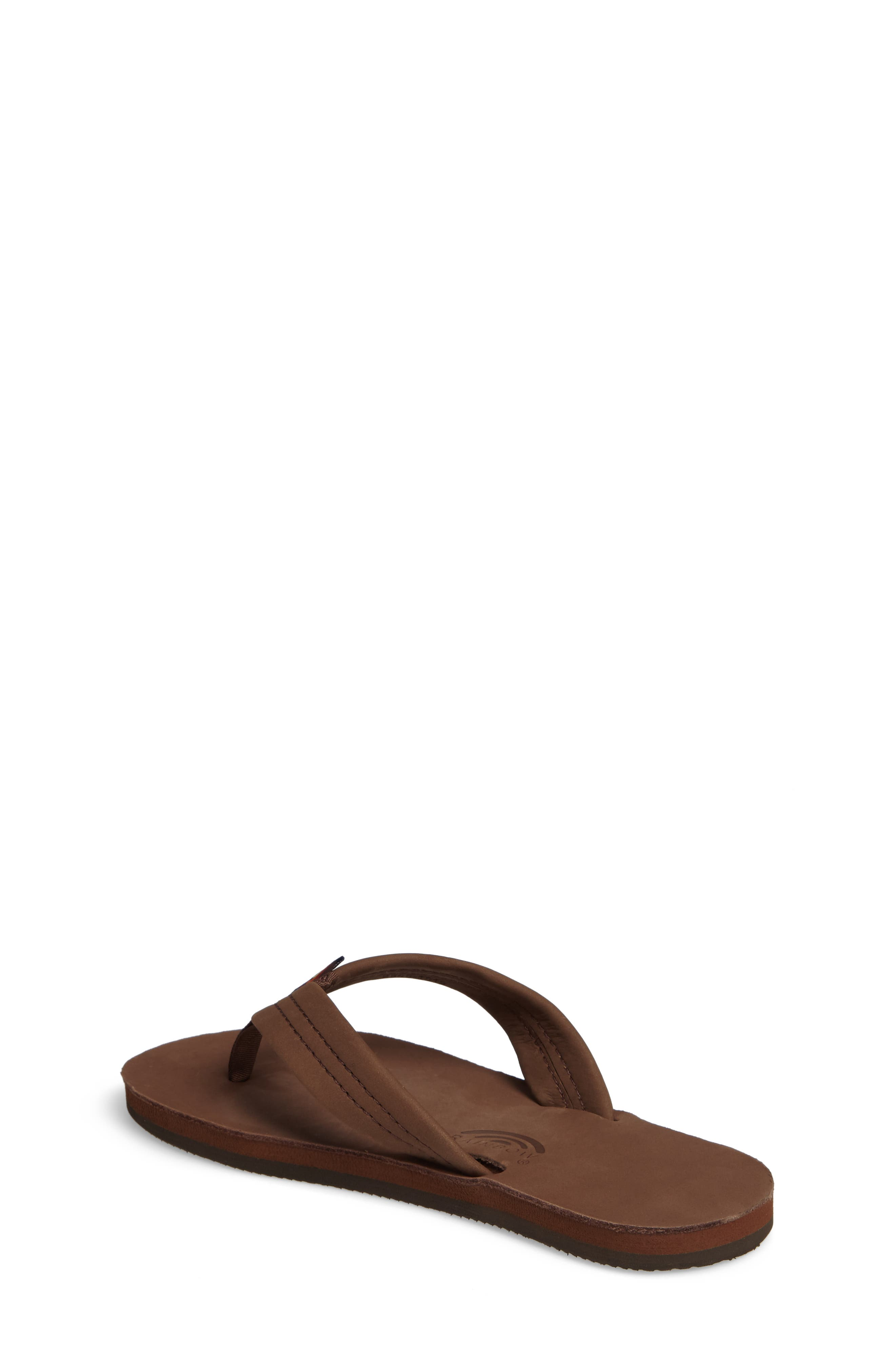 ,                             Rainbow Leather Sandal,                             Alternate thumbnail 2, color,                             EXPRESSO