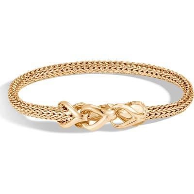 John Hardy Asli 18K Gold Chain Bracelet