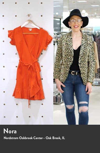 Ruffle Wrap Minidress, sales video thumbnail
