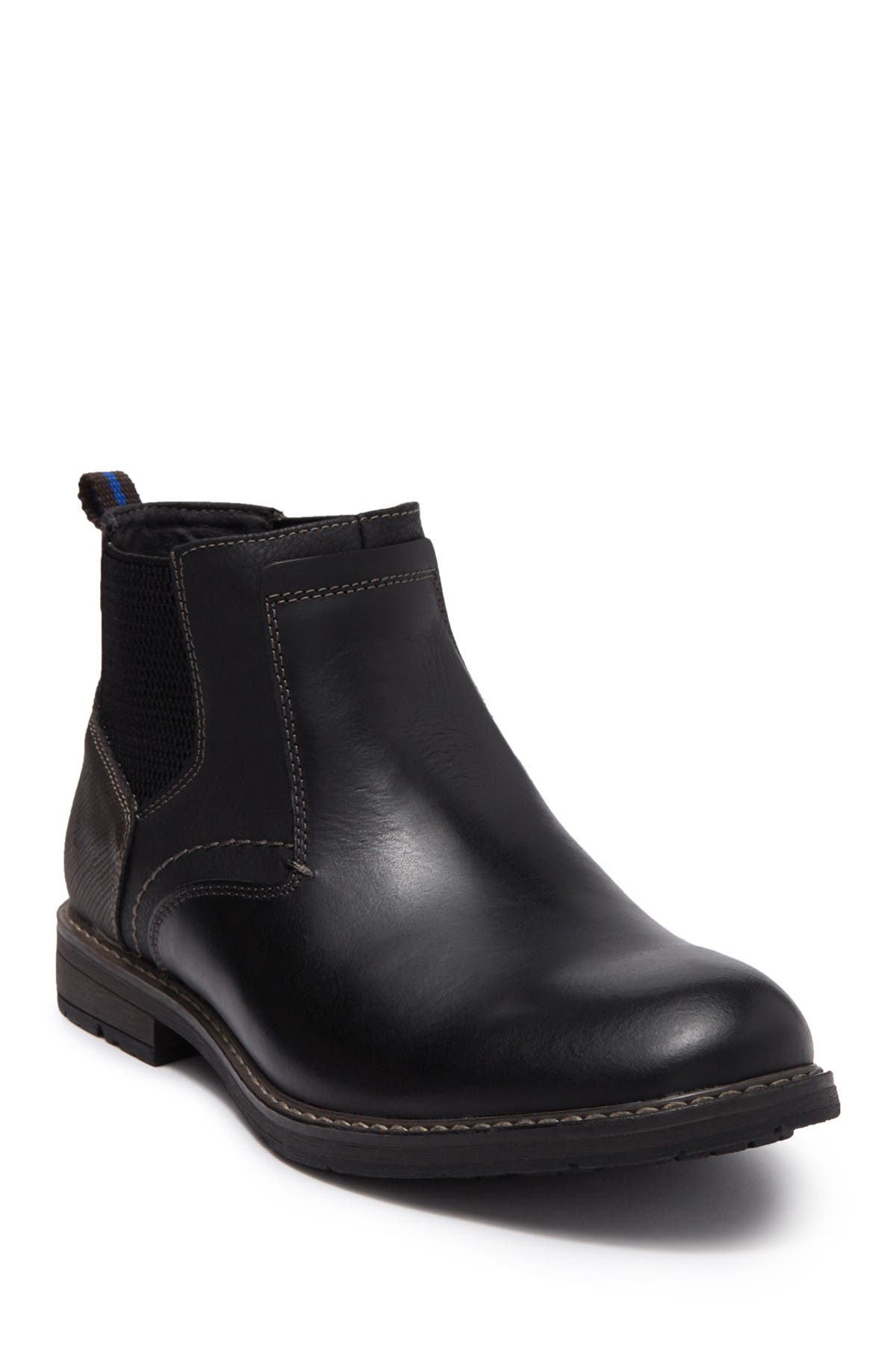 Image of NUNN BUSH Fuse Leather Plain Toe Chelsea Boot - Wide Width Available
