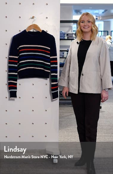 Mini Maren Wool & Cashmere Sweater, sales video thumbnail