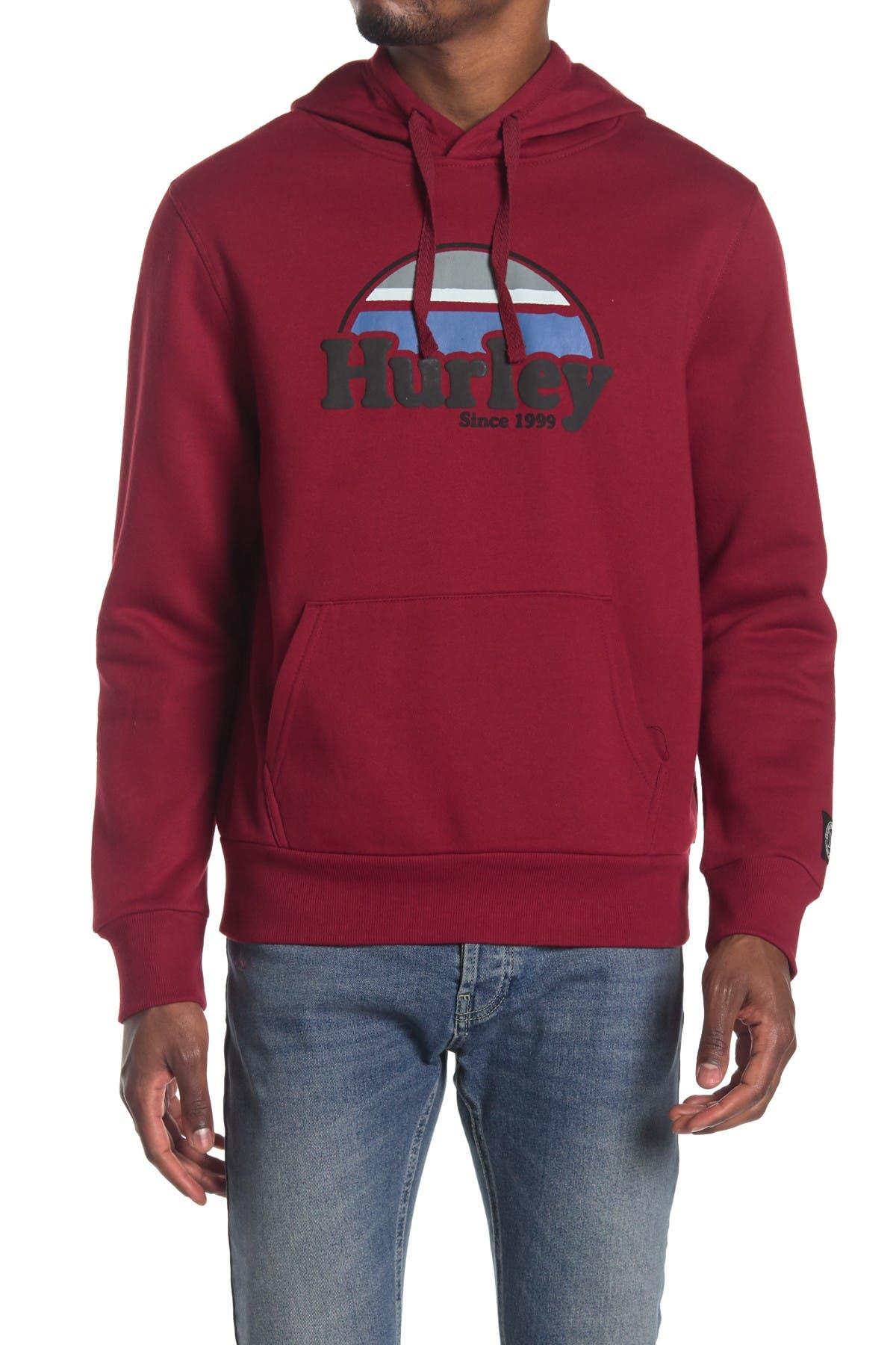 Image of Hurley Fleece Pullover Hoodie