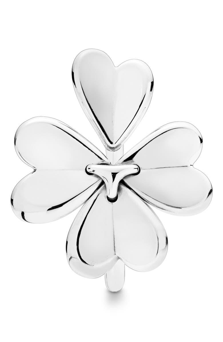 PANDORA Four-Leaf Clover Ring, Main, color, 040