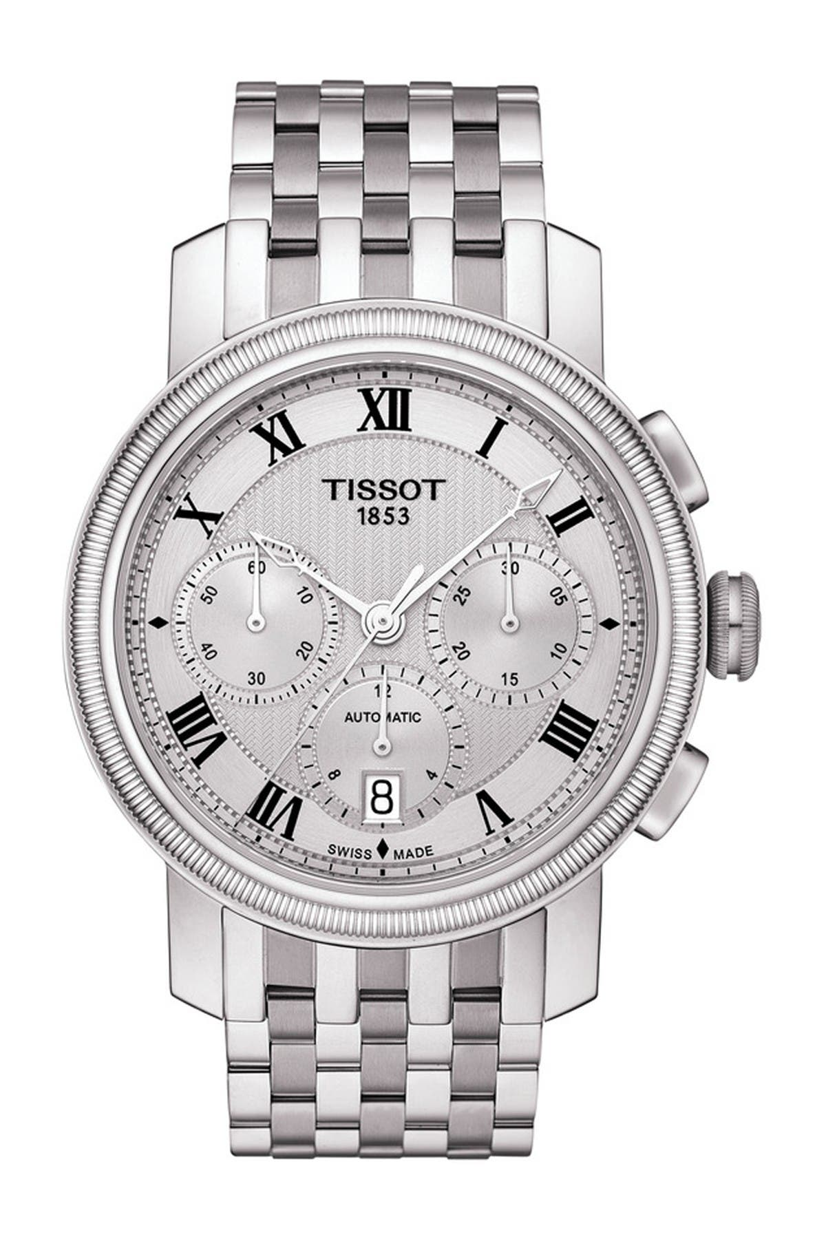 Image of Tissot Men's Bridgeport Automatic Chronograph Valjoux Watch, 42mm