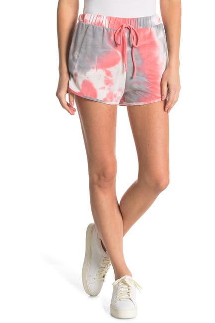 Image of Know One Cares Tie Dye Dolphin Shorts