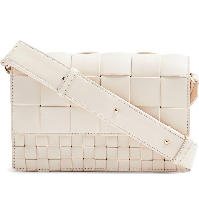 Topshop Mixed Weave Crossbody Bag | Nordstrom