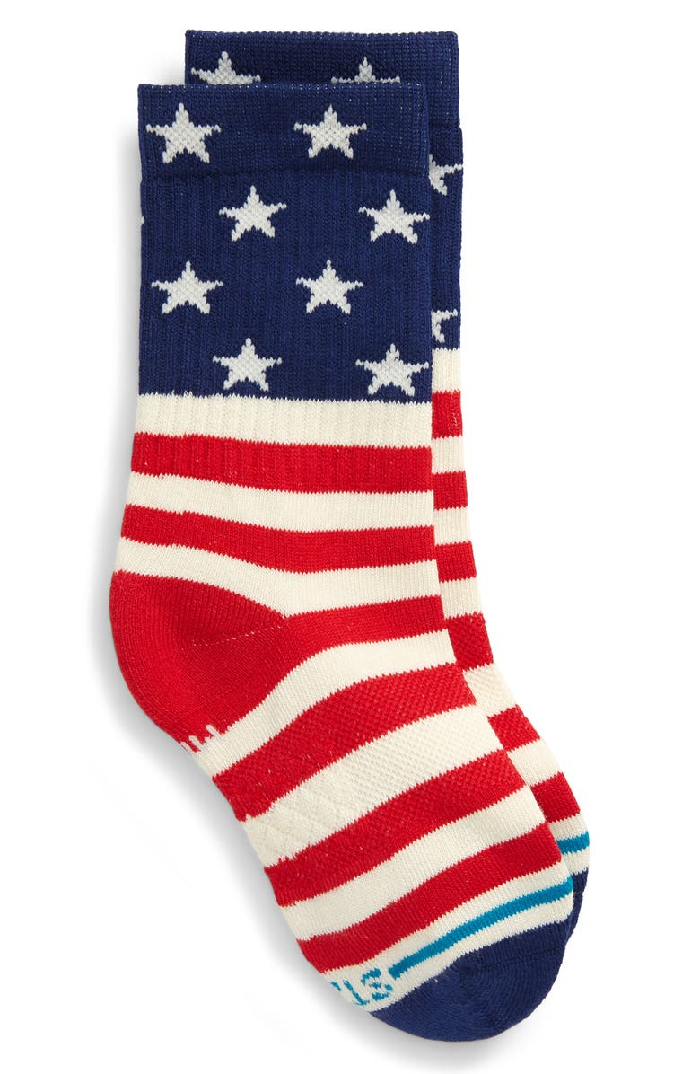STANCE Combed Cotton Blend Crew Socks, Main, color, 600