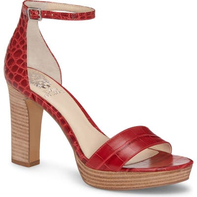 Vince Camuto Sathina Sandal- Red