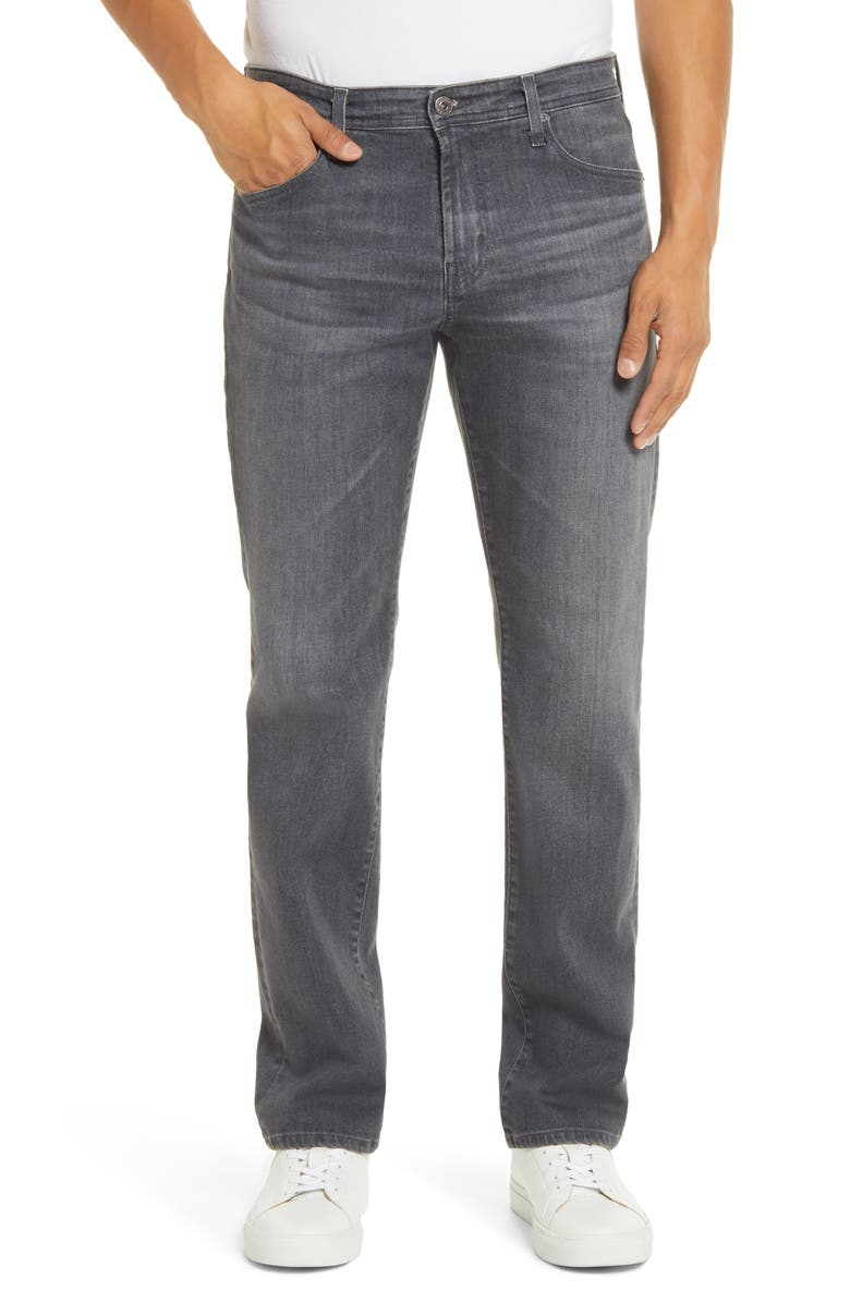 AG Graduate Slim Straight Leg Jeans, Main, color, 020