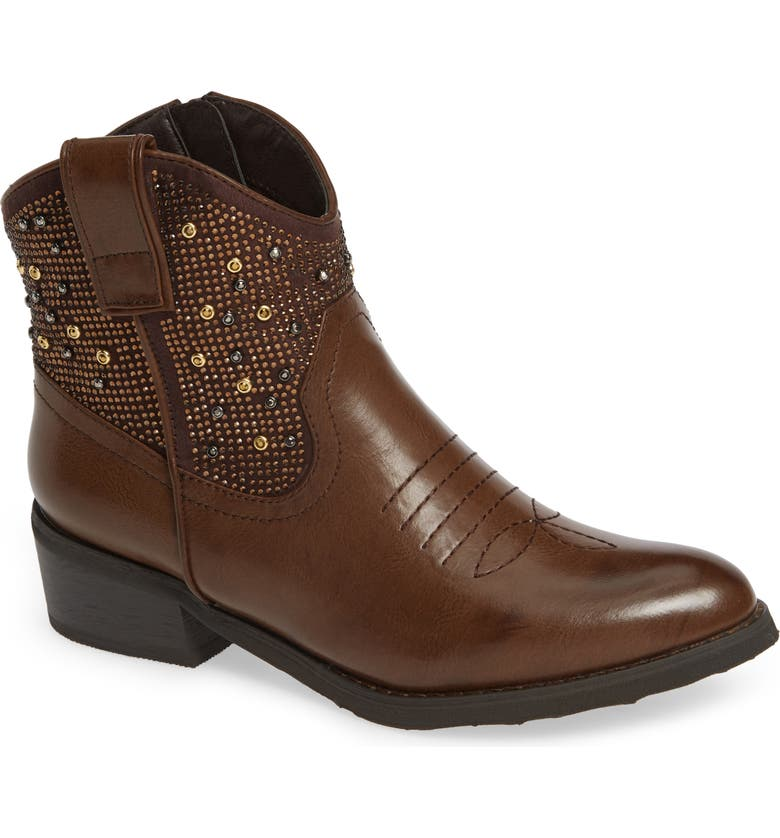 VERY VOLATILE Toulon Western Boot, Main, color, BROWN LEATHER
