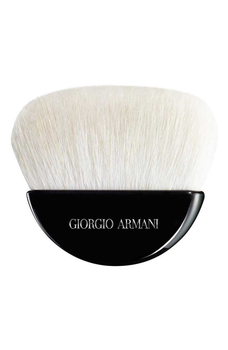 GIORGIO ARMANI Maestro Sculpting Powder Brush, Main, color, NO COLOR