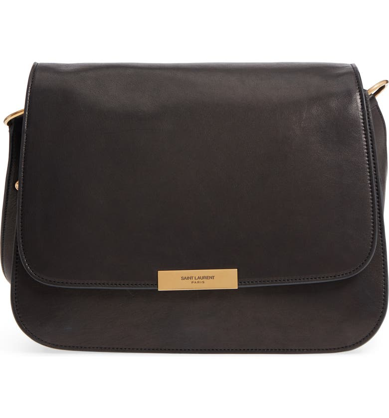 1030a1924b2 Saint Laurent Amalia Leather Flap Shoulder Bag | Nordstrom