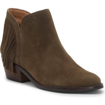 Lucky Brand Freedah Bootie- Green